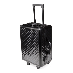 Makeup Suitcase Black Diamond (KC-158S-CR-B)