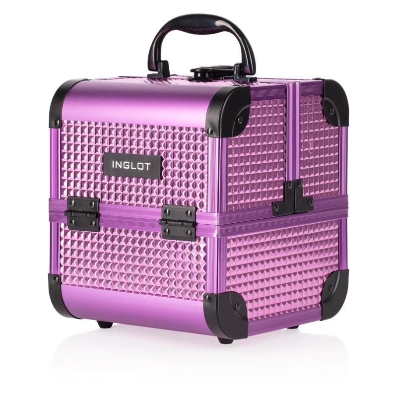 Makeup Case Ice Cube Mini Pinky Purple (MB152M K105-18HB)