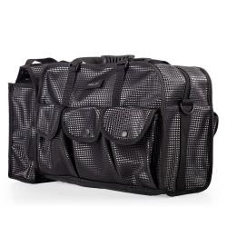Makeup Bag Black with Pockets (KC-CZ02P) icon