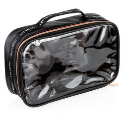 Travel Makeup Bag Big Black&Rose Gold icon