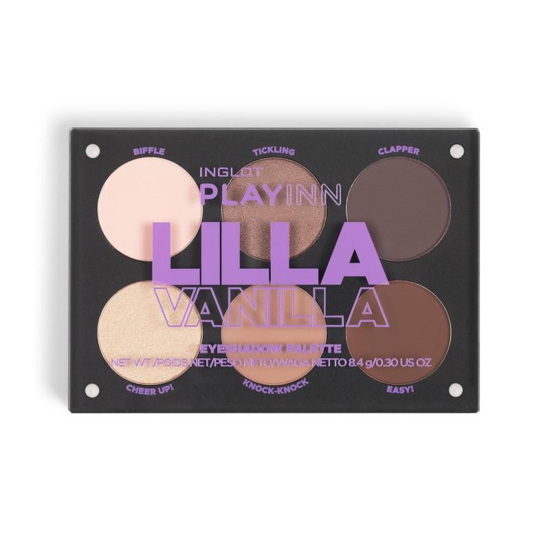INGLOT PLAYINN Lilla Vanilla Eyeshadow Palette