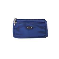 Cosmetic Bag Blue & Silver (R23676B) icon