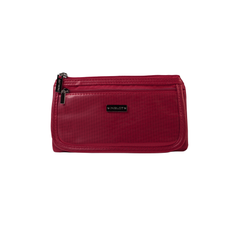 Cosmetic Bag Red & Gold (R23676C)