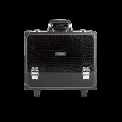 Makeup Case Crocodile Leather Pattern with Wheels Large (KC-PL15)