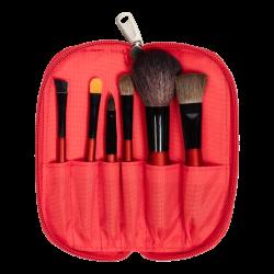 Travel Brush Set (6 PCS) RED icon