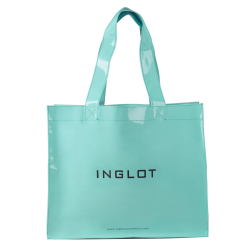 Pattented Shopping Bag Mint icon
