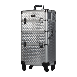 Makeup Case Silver Diamond (KC-TR003)
