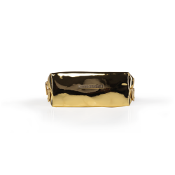 Cosmetic Bag Mirror Gold