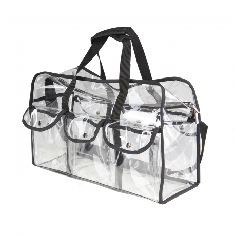 Transparent Makeup Bag With Pockets