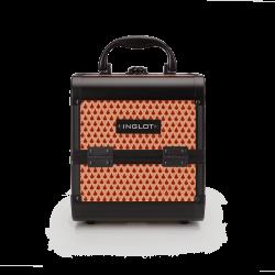Makeup Case Mini Teardrop Brown (MB152M Fan4)