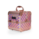 Makeup Case Diamond Mini Holographic Rose Gold (MB152M Big Diamond K107 9)