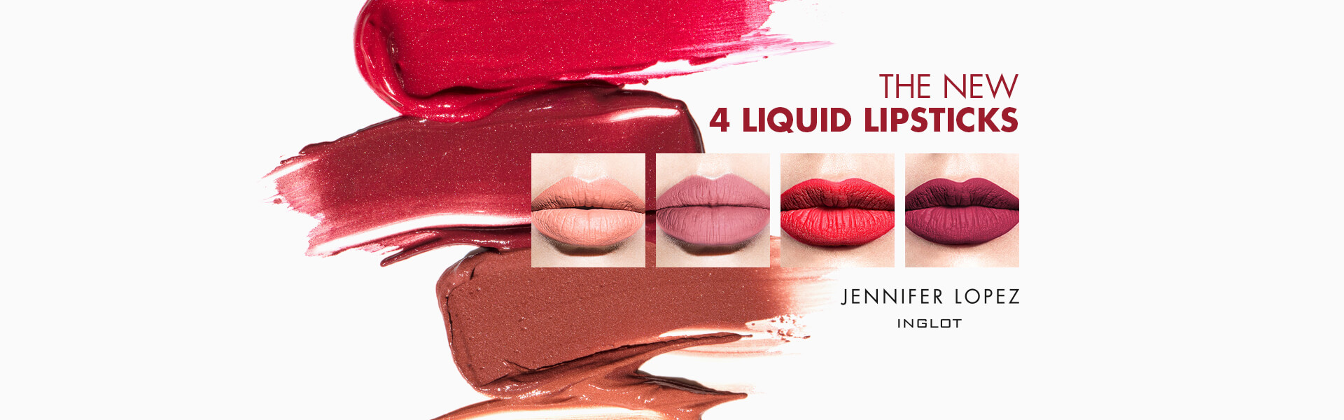 The new 4 Liquid Lipsticks