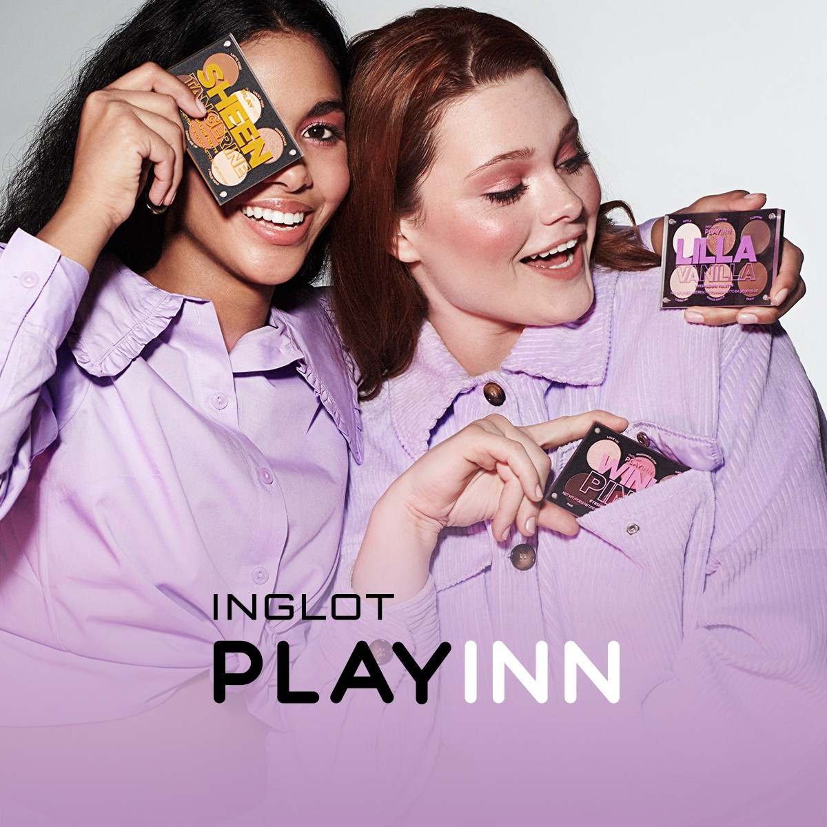 Have fun and joy with Inglot PlayInn! Check out which eyeshadow palette suits you best